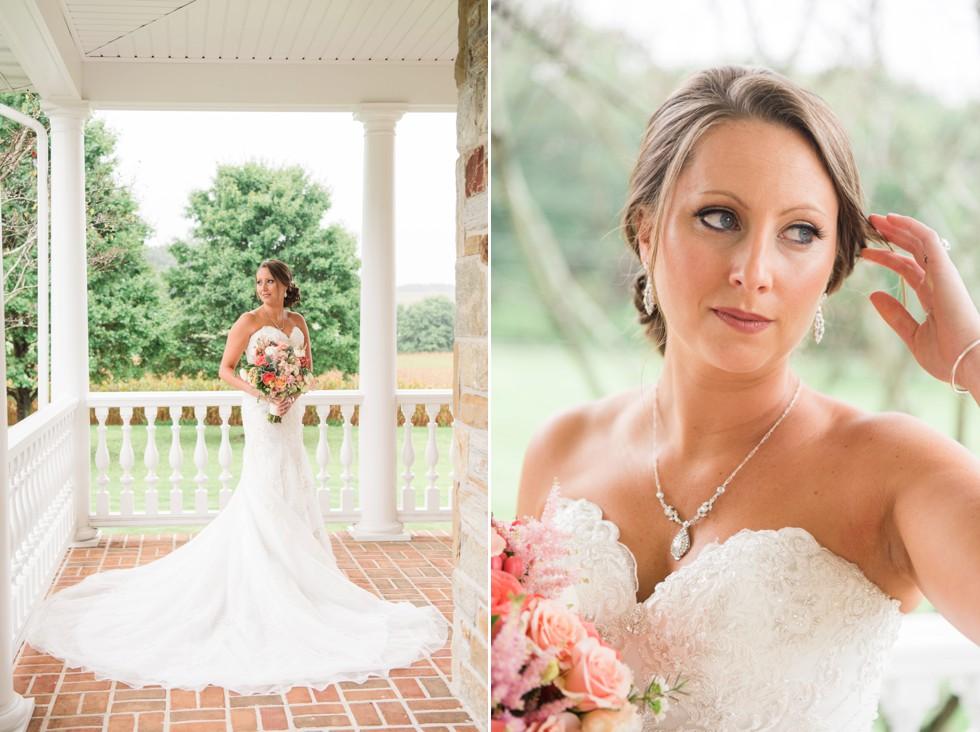 Ann's Garden floral bridal portraits