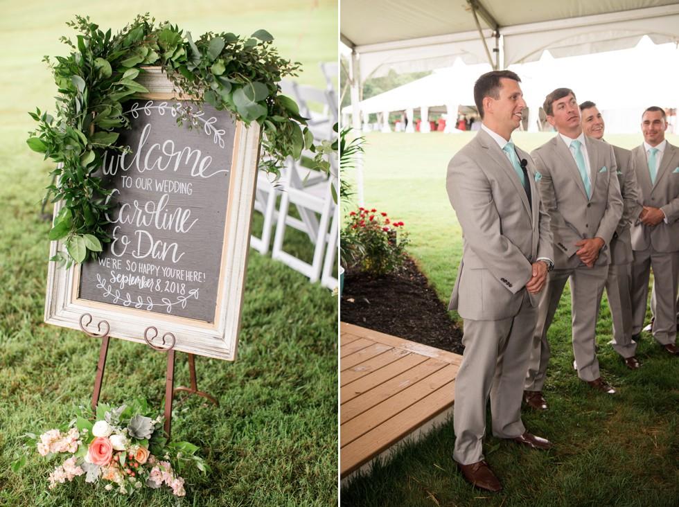 Ann's Garden floral wedding ceremony
