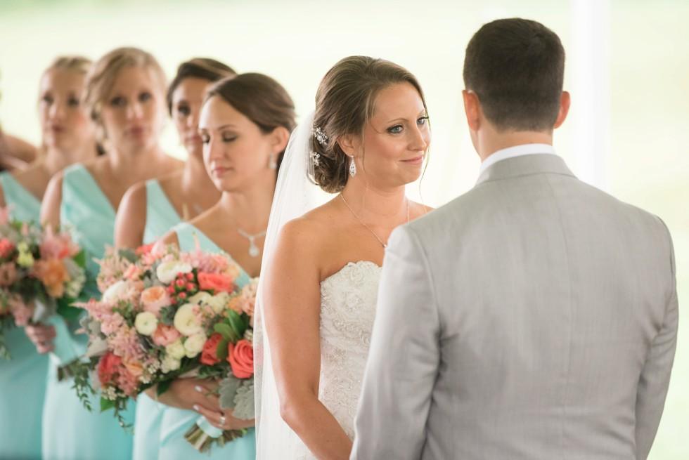 Ann's Garden wedding ceremony