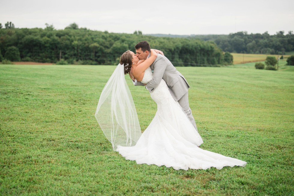 Rainy Friendly Farm wedding photos