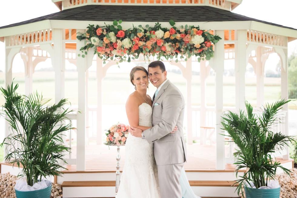 Friendly Farm Wedding Reception - Ann's Garden florals