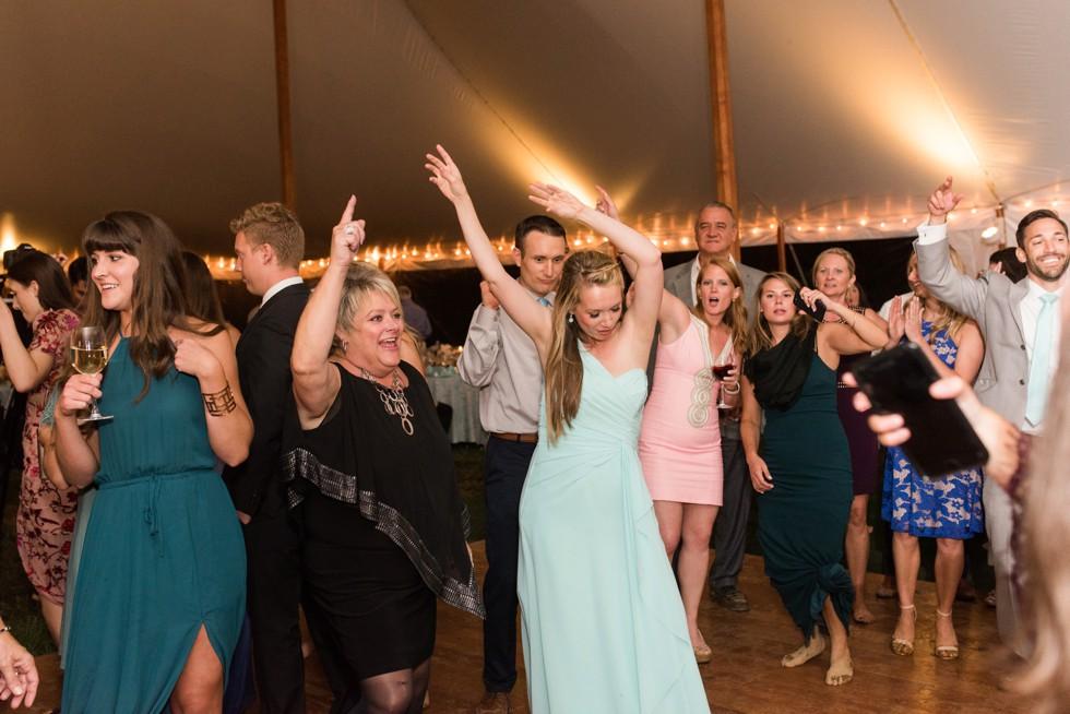 Friendly Farm restaurant tented Wedding reception