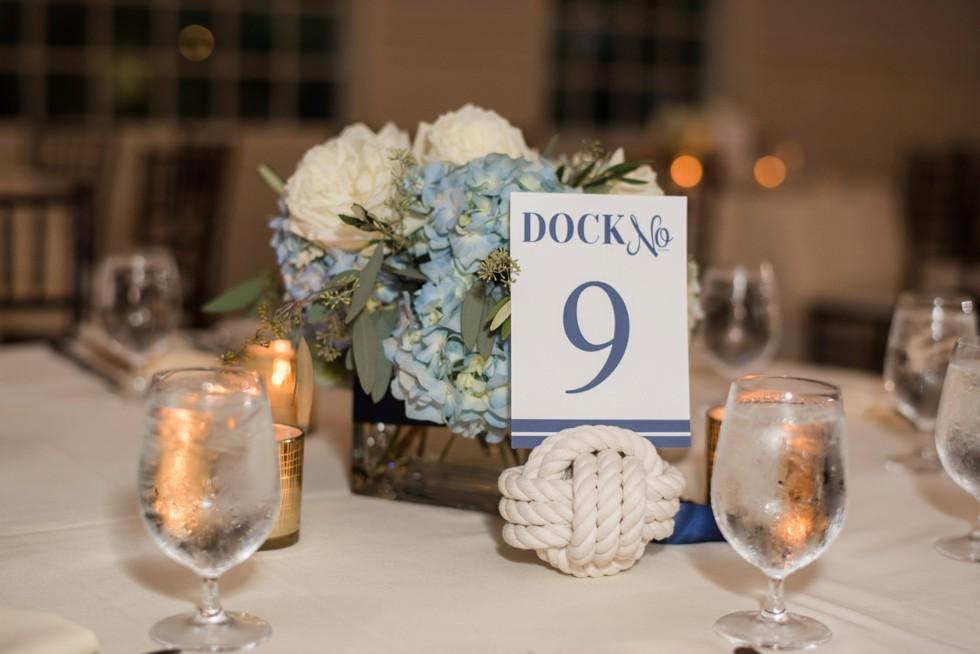 Eastern shore wedding reception