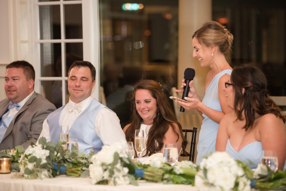 CBBC Beach House ballroom wedding toasts