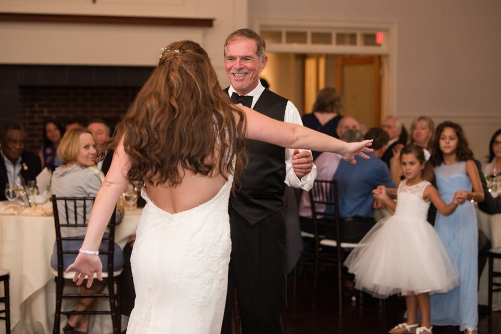 CBBC Beach House ballroom wedding father daughter dance