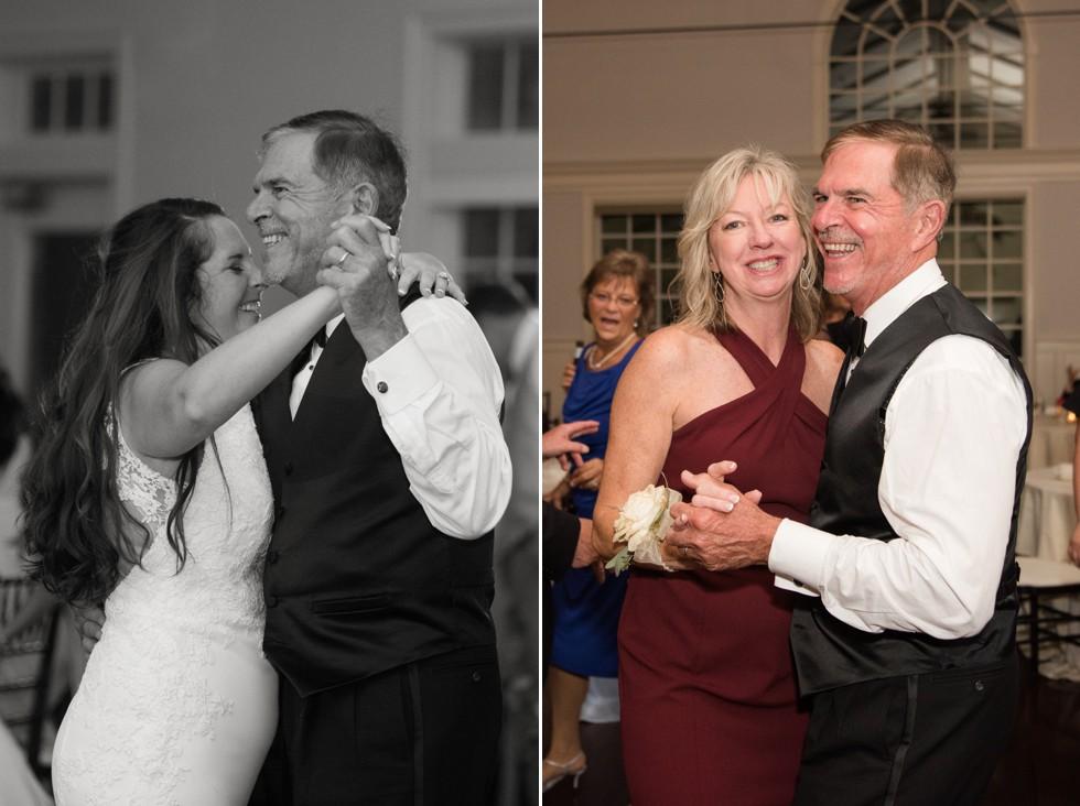 CBBC Beach House ballroom wedding parent dances