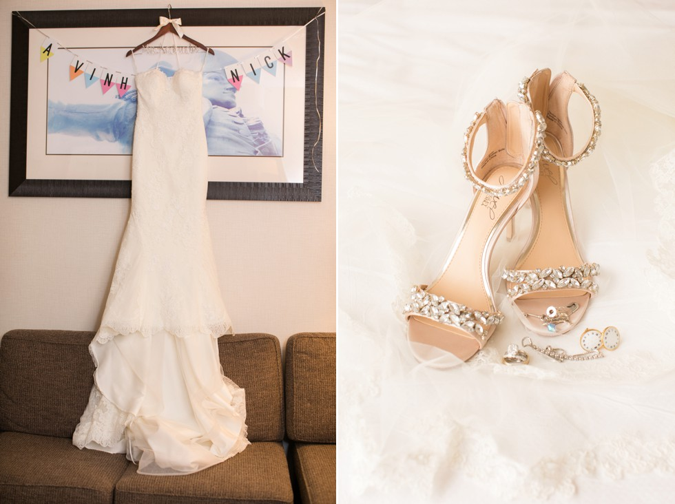 Bridal getting ready Delta Hotels by Marriott Baltimore Inner Harbor