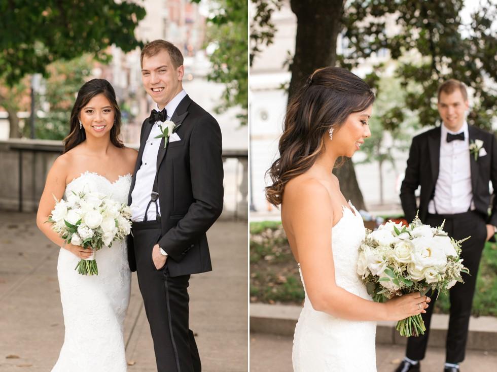 George Peabody Library wedding in Mount Vernon Baltimore