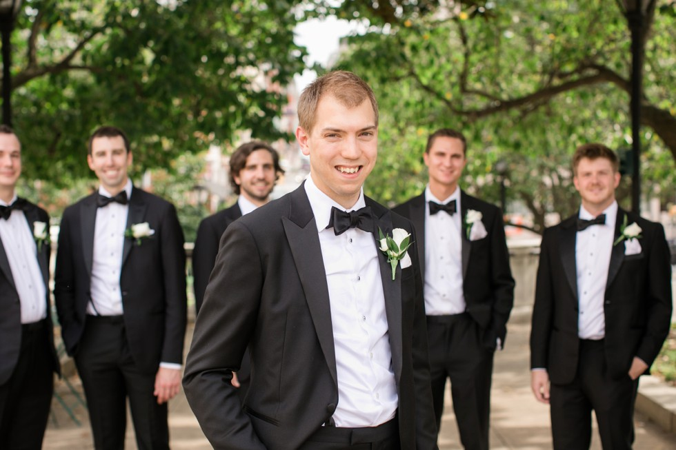 Mount Vernon Baltimore groom