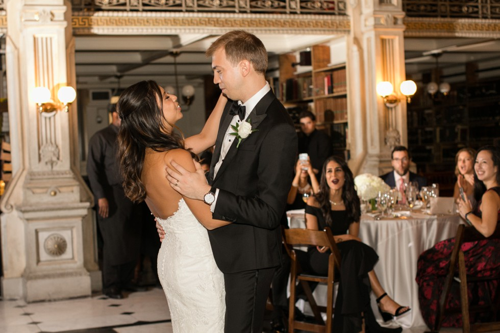 George Peabody Library Events wedding reception