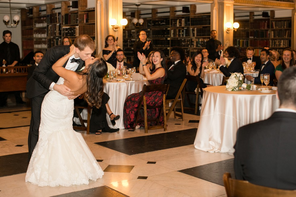 George Peabody Library Events wedding reception District Remix