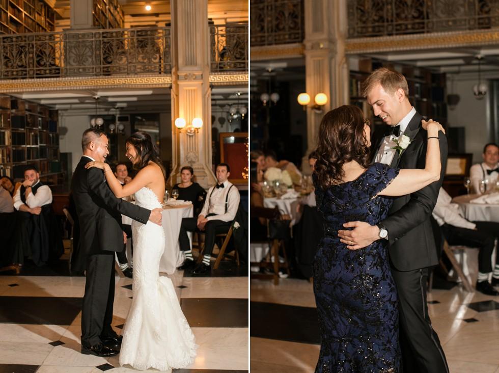 George Peabody Library Events wedding parent dances