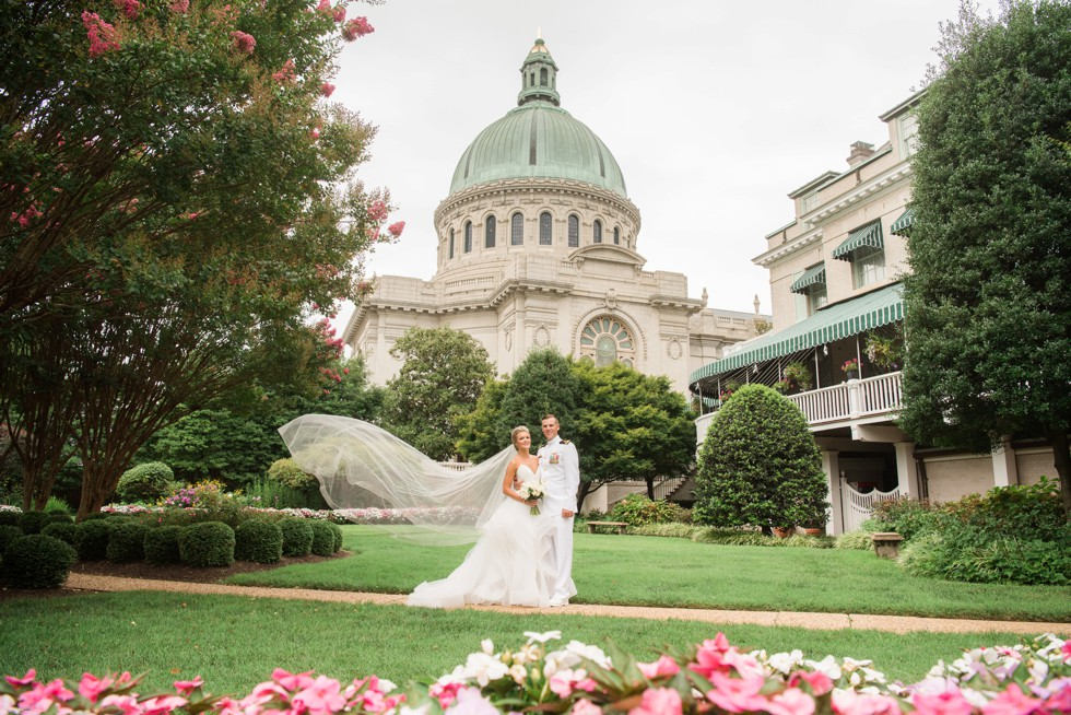 US Naval Academy Chapel Wedding in Annapolis Maryland