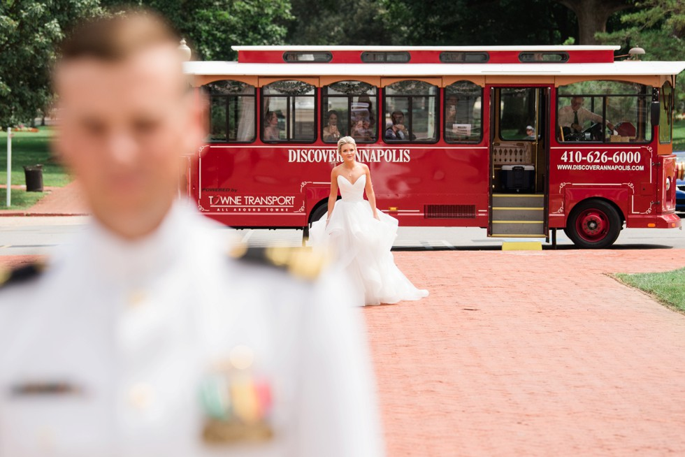 First look outside Annapolis Trolley
