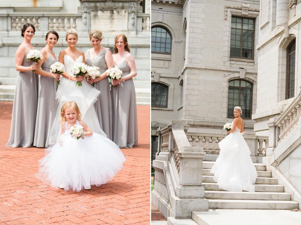 Bridesmaids Mahan Hall US Naval Academy