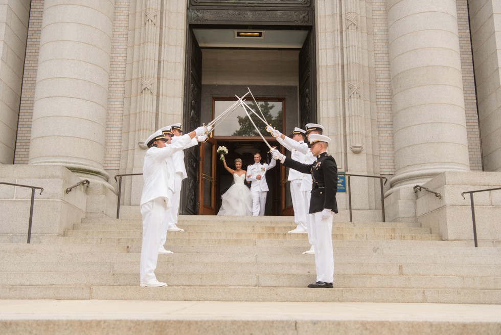 United States Naval Academy chapel sword arch