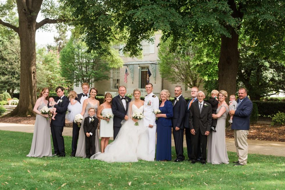 Bancroft Hall family photos