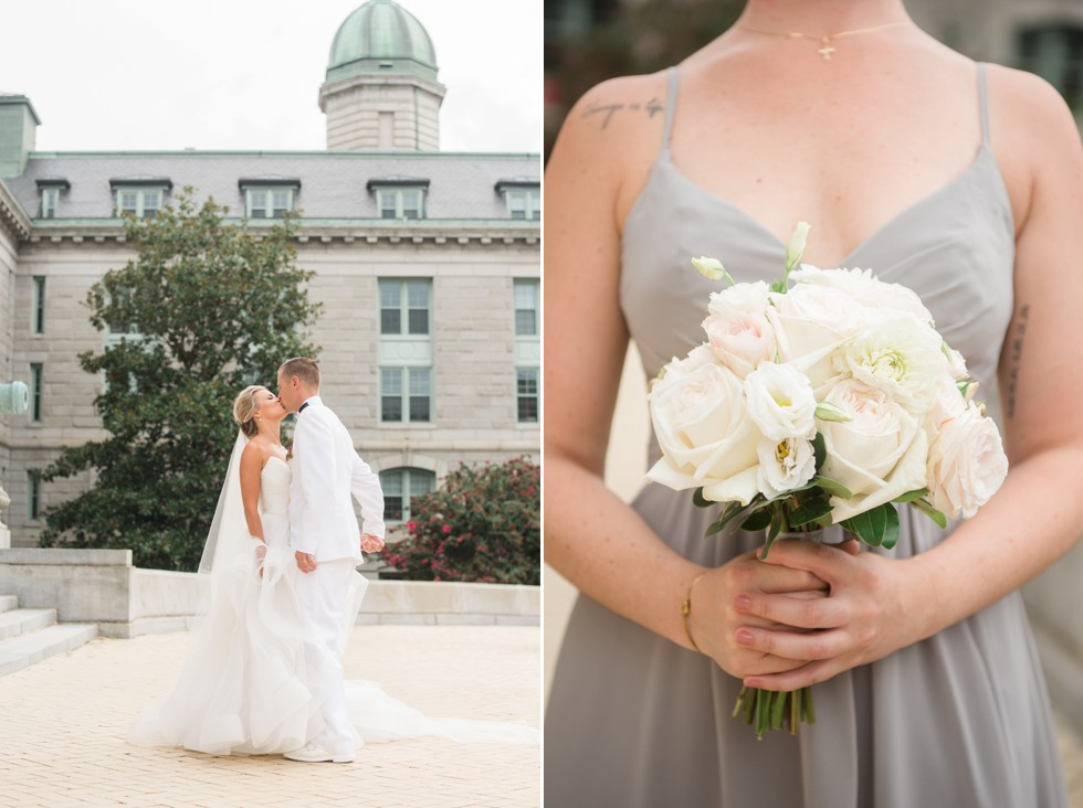 Military wedding in Annapolis