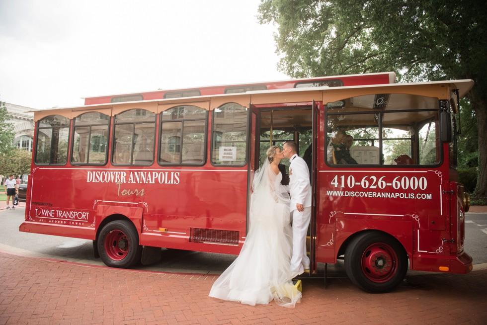 US Naval Academy alumni wedding