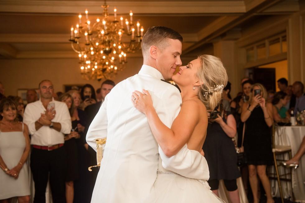 Annapolis wedding at USNA Officer's Club