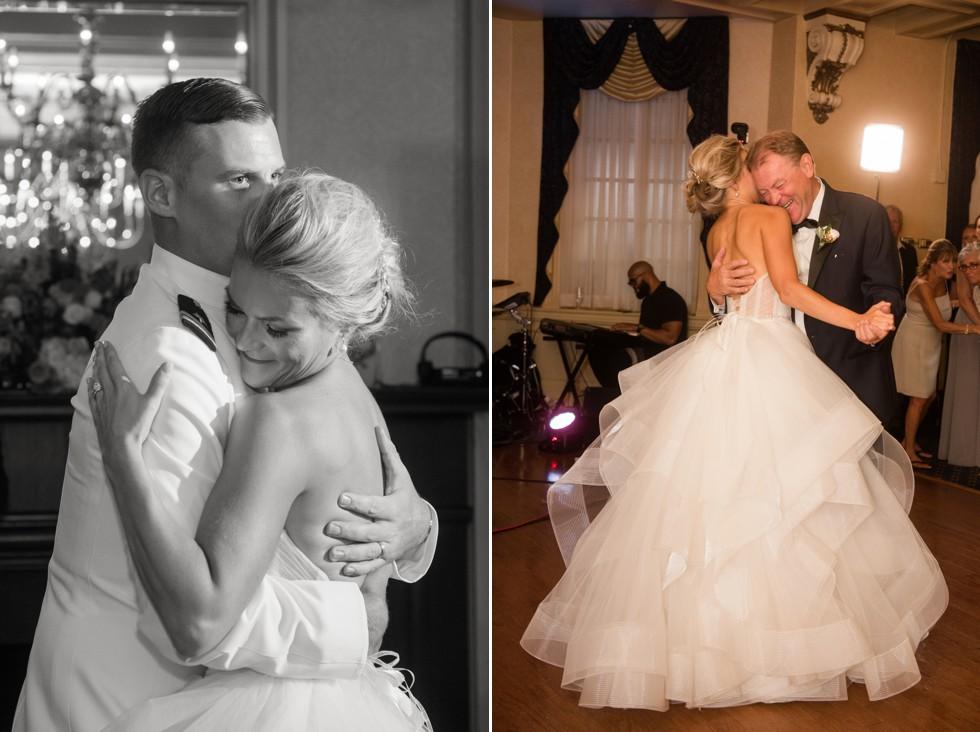 wedding parent dances USNA Officer's Club