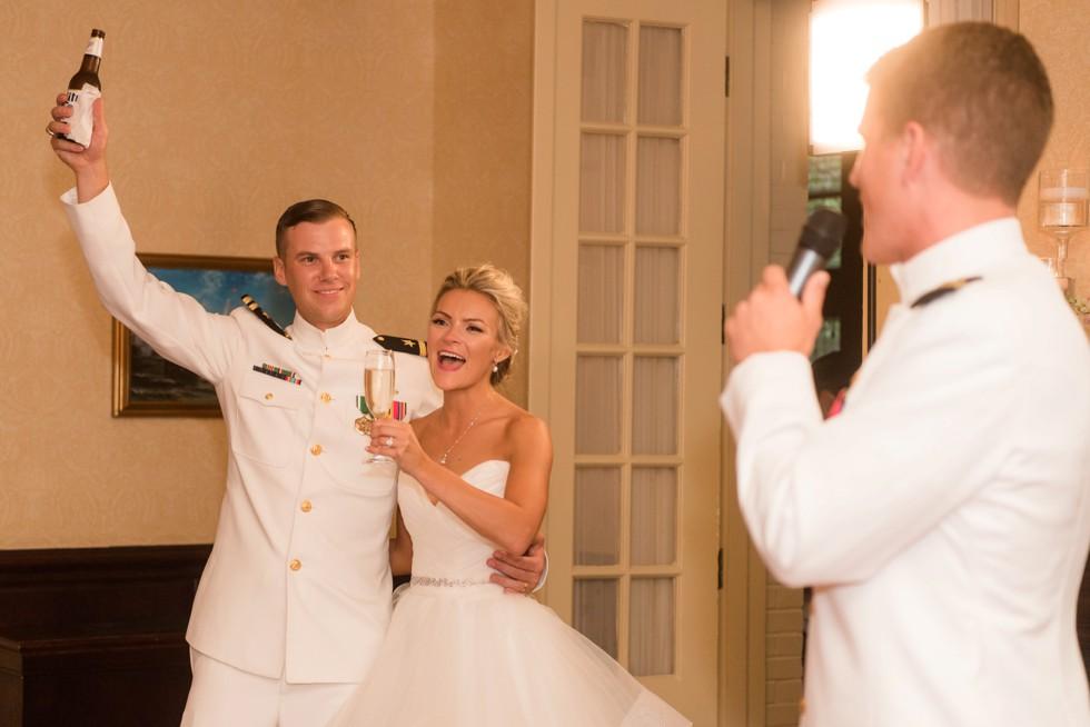 wedding toast USNA Officer's Club