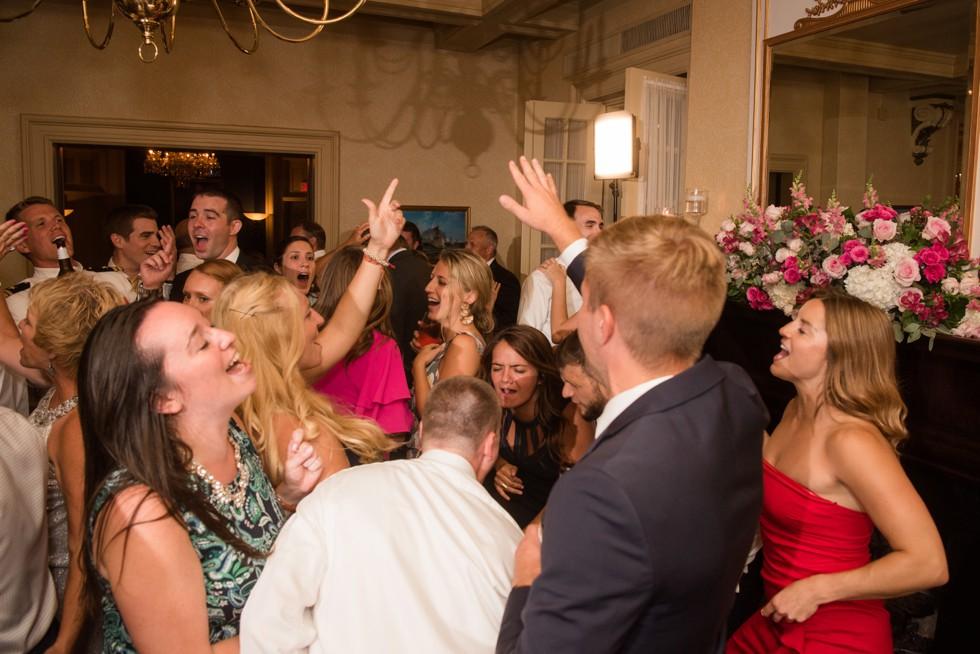 US Naval Academy Officer's Club wedding reception