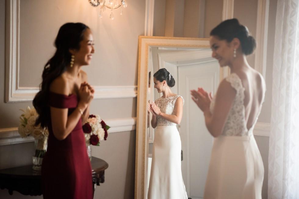 Belvedere Bridal prep in Baltimore