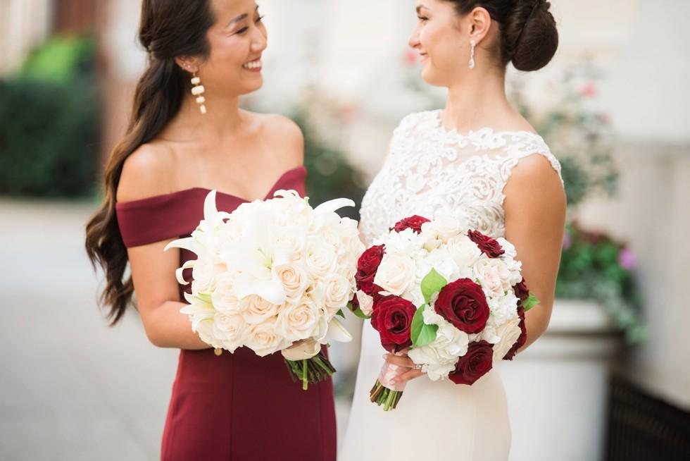 Anns Garden Florals Mount Vernon Baltimore Wedding