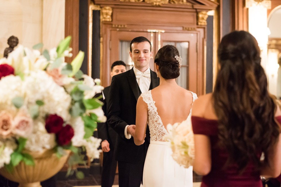 Belvedere Baltimore Indoor wedding Ceremony