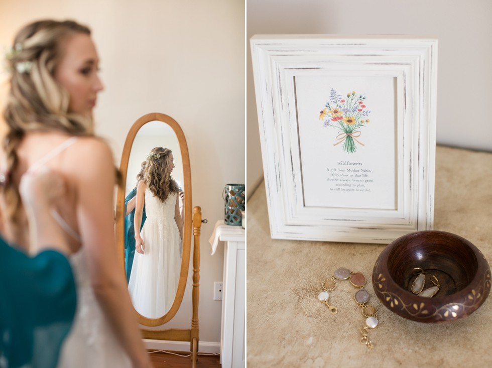 Belmont Manor brides getting ready