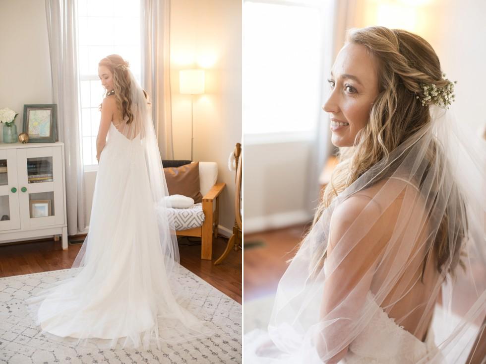 Belmont Manor bridal getting ready