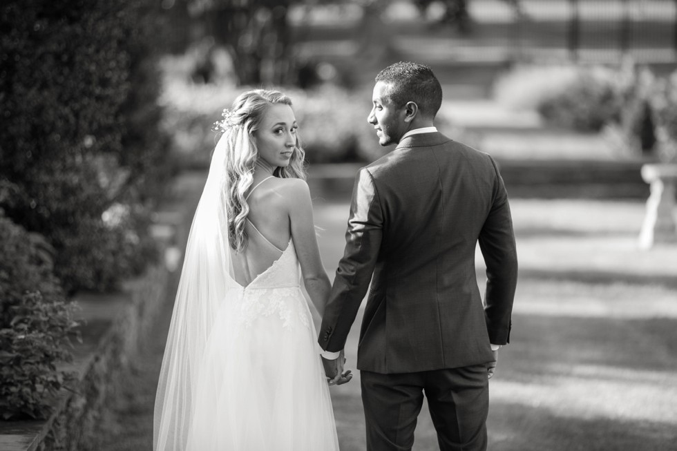 Belmont manor wedding in Fall