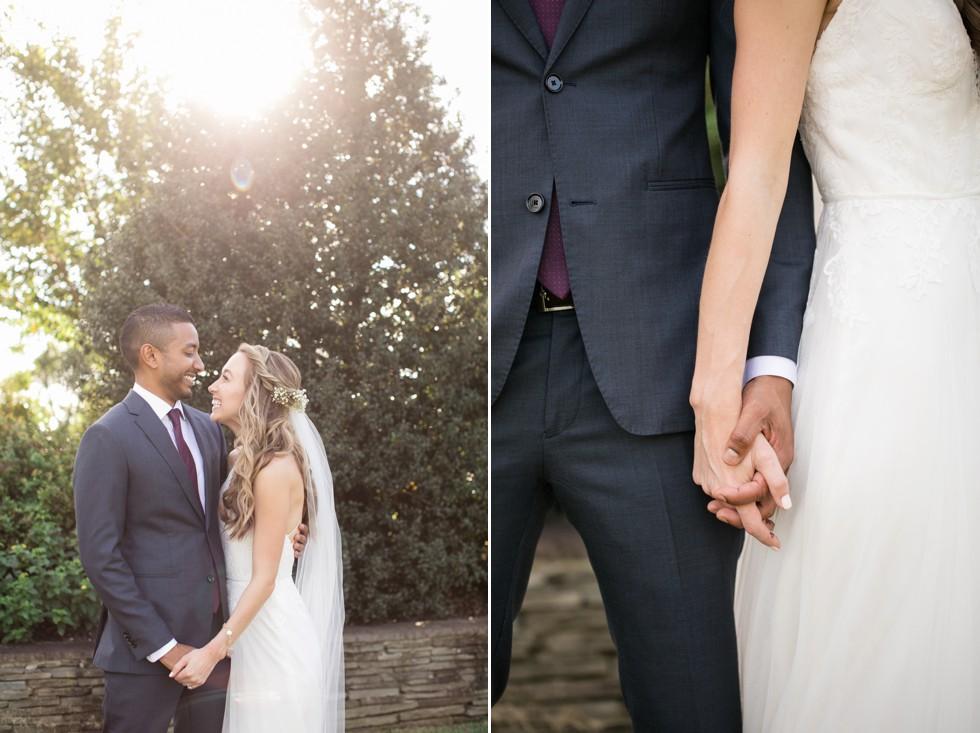 fall wedding at Belmont Historic Manor