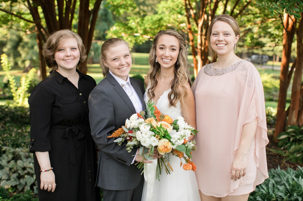 Belmont Manor & Historic Park fall wedding