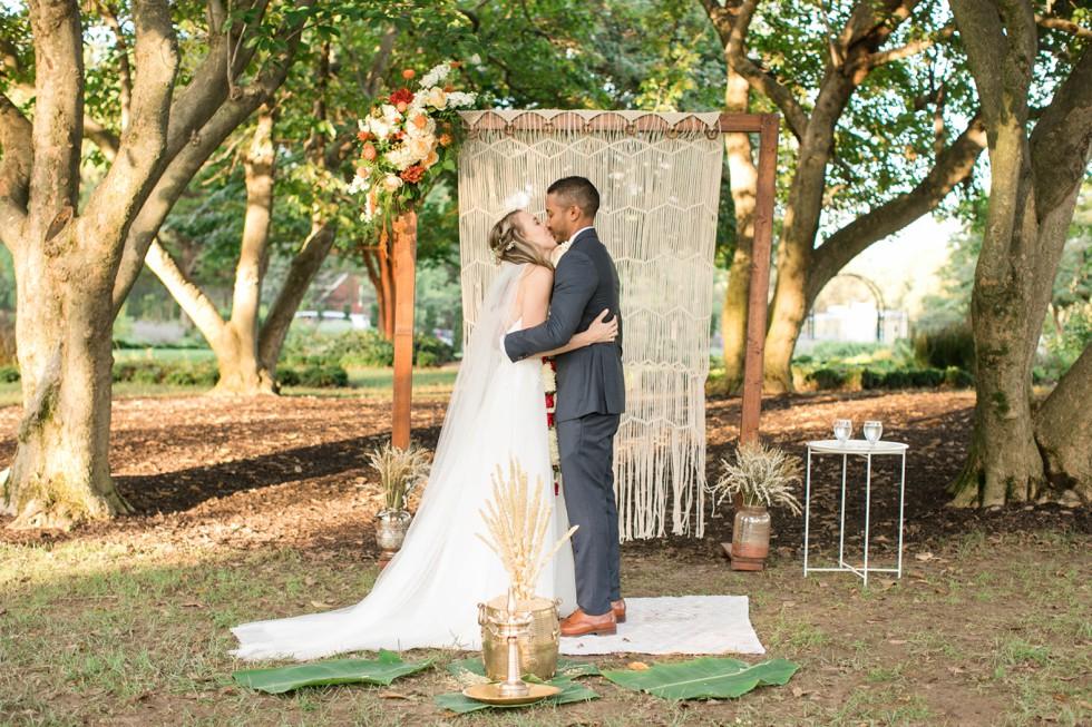 Multicultural wedding ceremony Belmont Manor