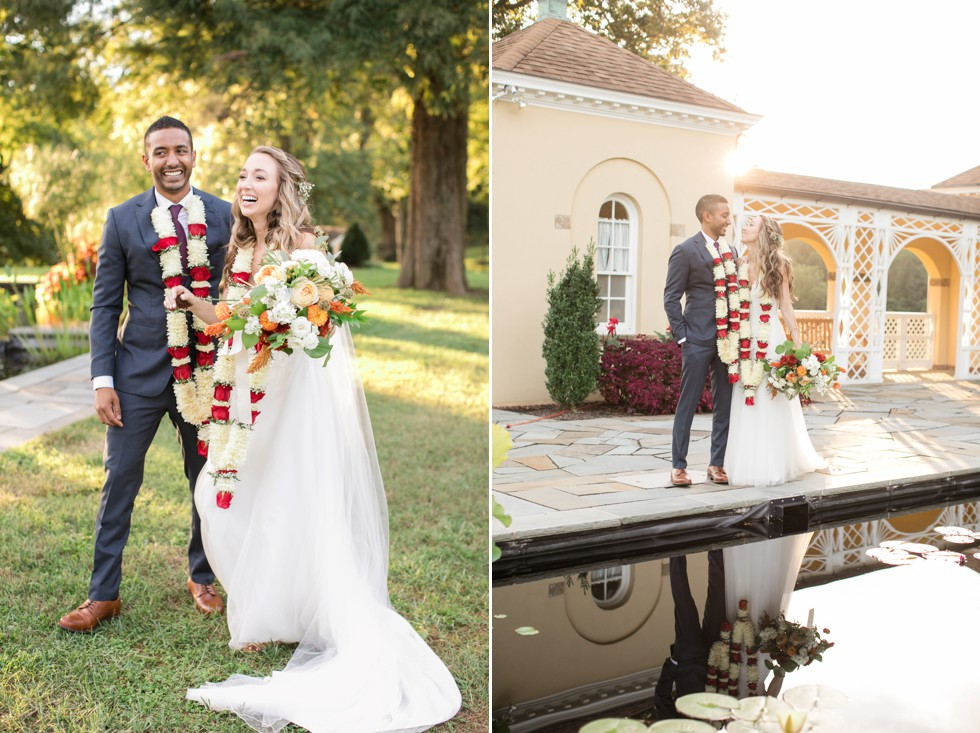 Belmont Wedding photos of bride and groom