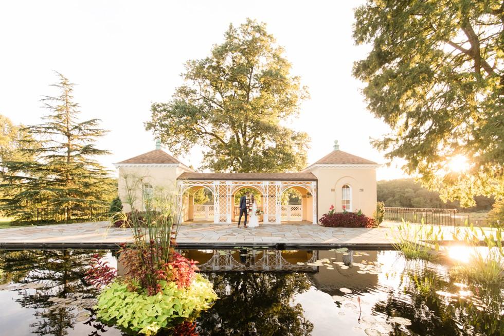 Belmont Historic Manor fall Wedding photographers