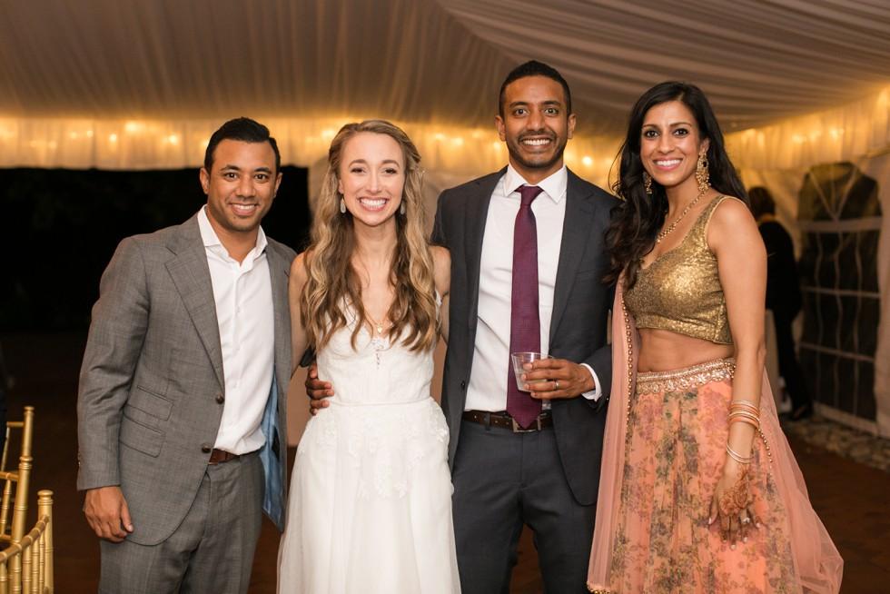 Belmont Manor & Historic Park wedding reception dancing