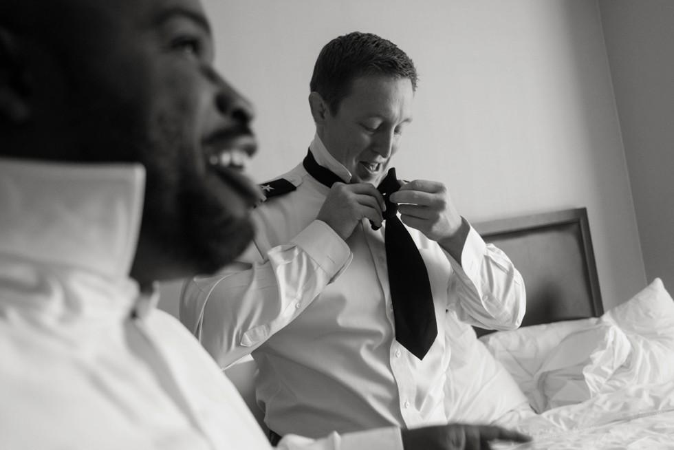 Westin Annapolis wedding getting ready
