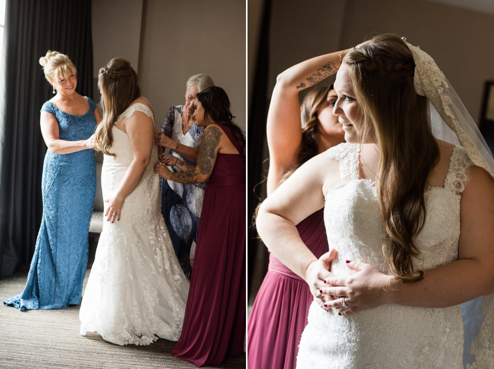 Westin Annapolis bridal prep