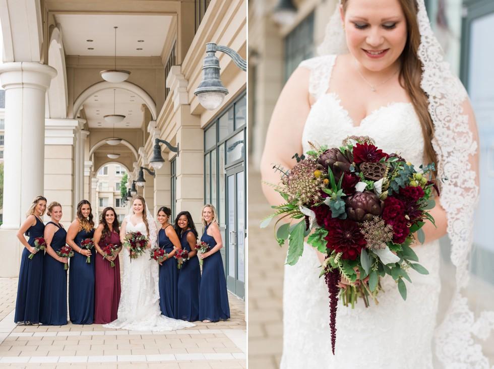 Westin Annapolis bridesmaid photos