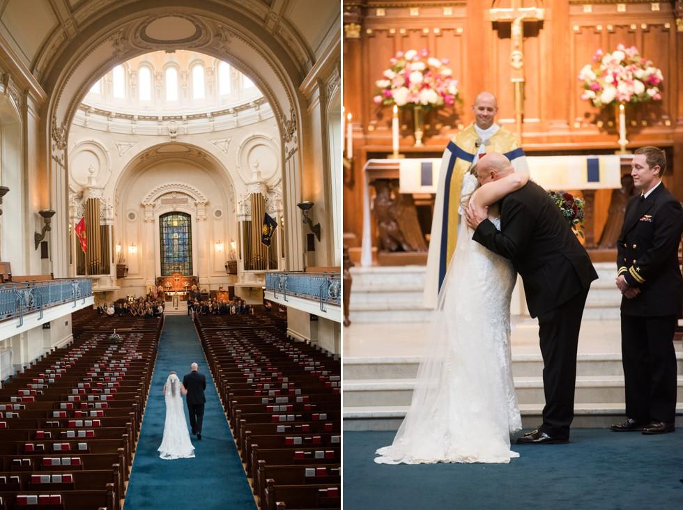 USNA Chapel Wedding Ceremony