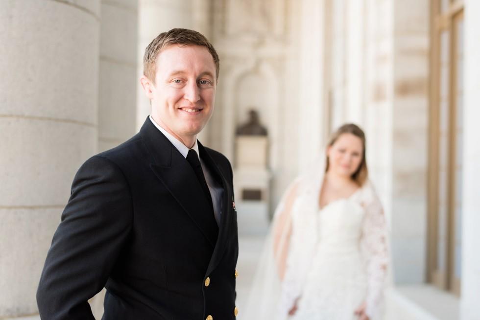 Bancroft Hall USNA Wedding
