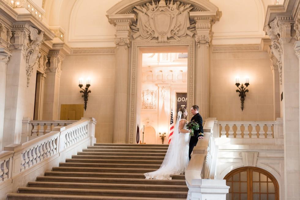 Rotunda Bancroft Hall USNA Wedding