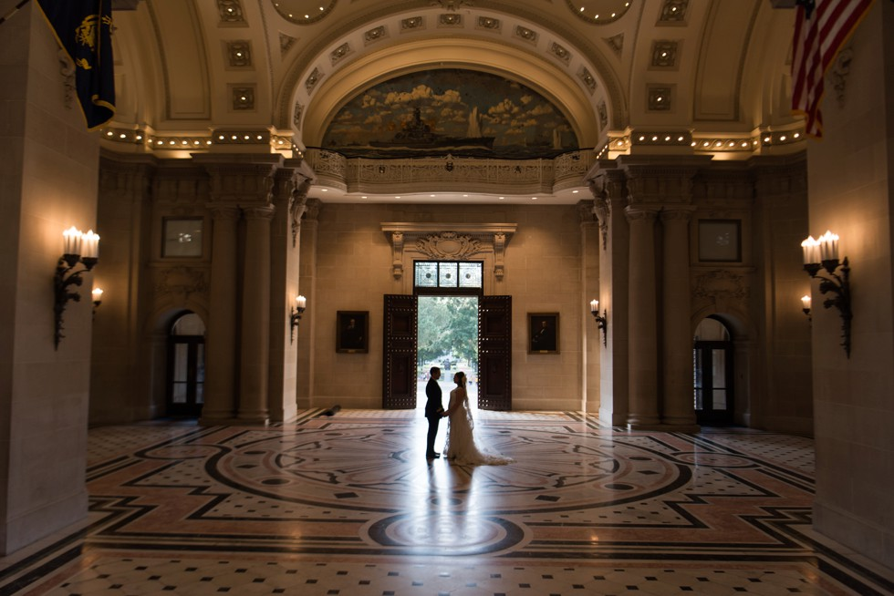 Bancroft Hall Rotunda USNA Wedding