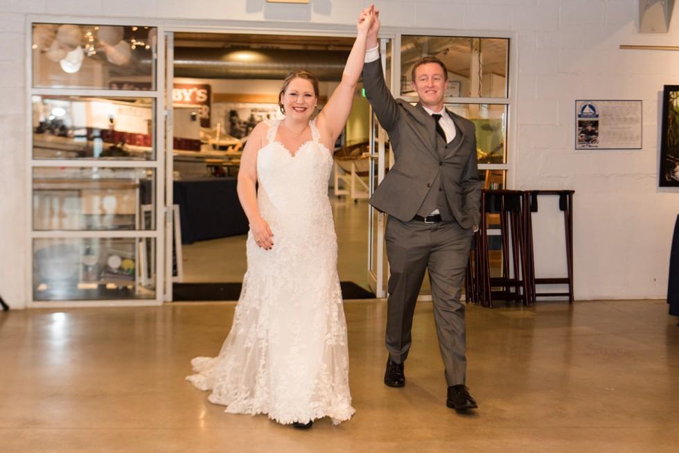 Annapolis Maritime Museum wedding reception
