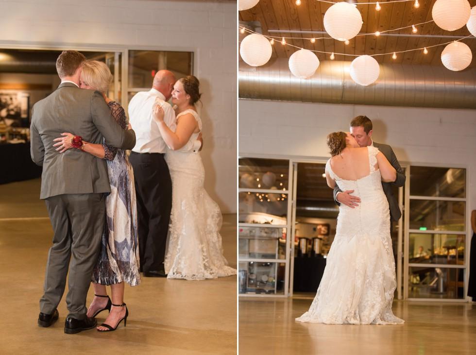 Annapolis Maritime wedding parent dances