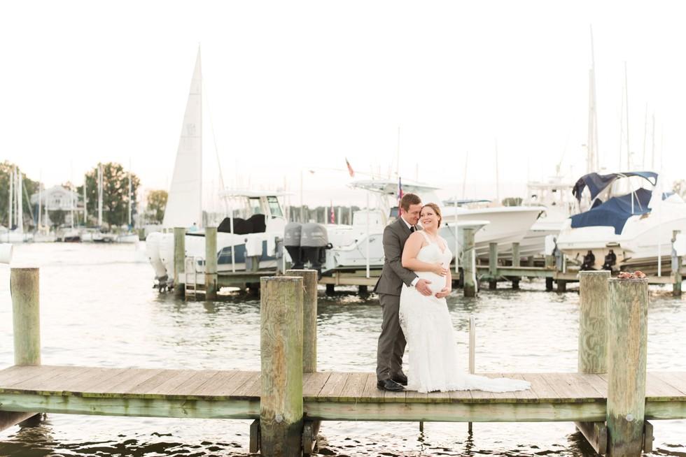 wedding at Annapolis Maritime Museum