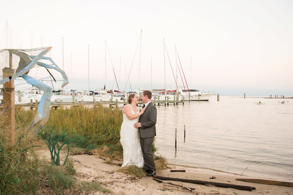 wedding at Annapolis Maritime Museum
